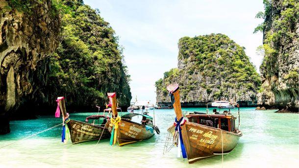 Von Bangkok nach Phuket