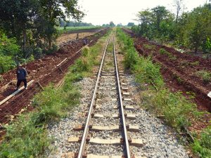 Zugstrecke Kanchanaburi