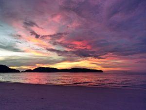 Sonnenuntergang Langkawi