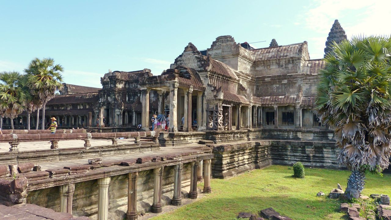 Von Bangkok nach Siem Reap