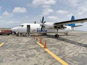 Insel Air Flugzeug