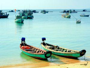 Fischerboote auf Phu Quoc