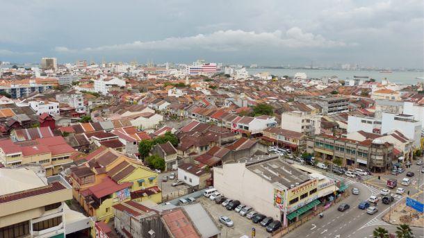Von Kuala Lumpur nach Penang