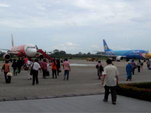 Von Bangkok nach Koh Phangan fliegen