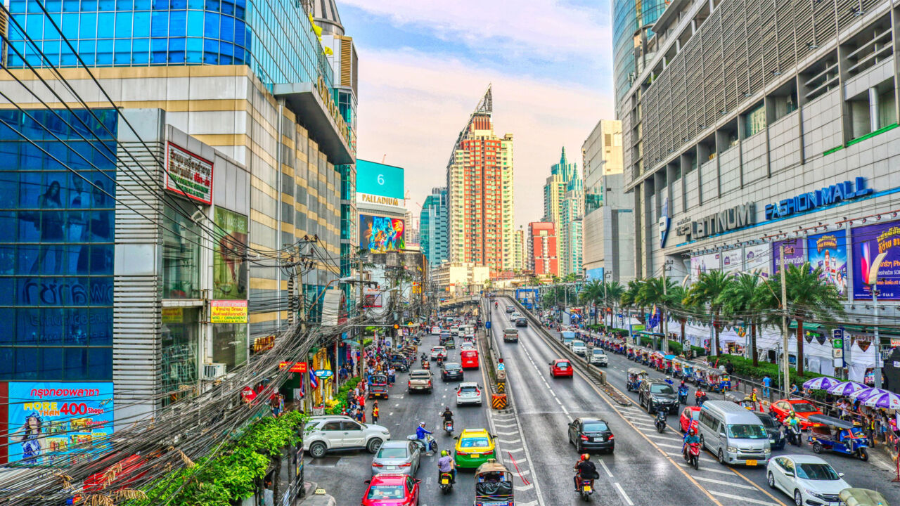 Von Phnom Penh nach Bangkok